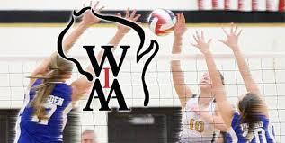 WIAA volleyball Regionals
