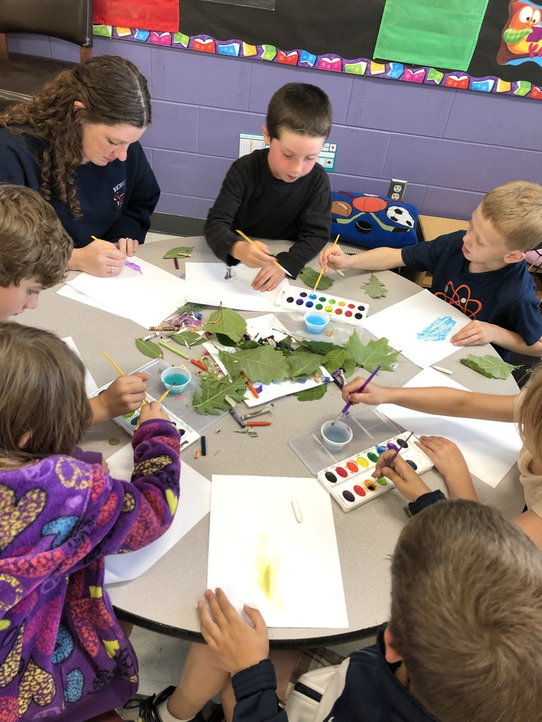 Outdoor Adventures exploring leaf rubbing and reverse rubbings