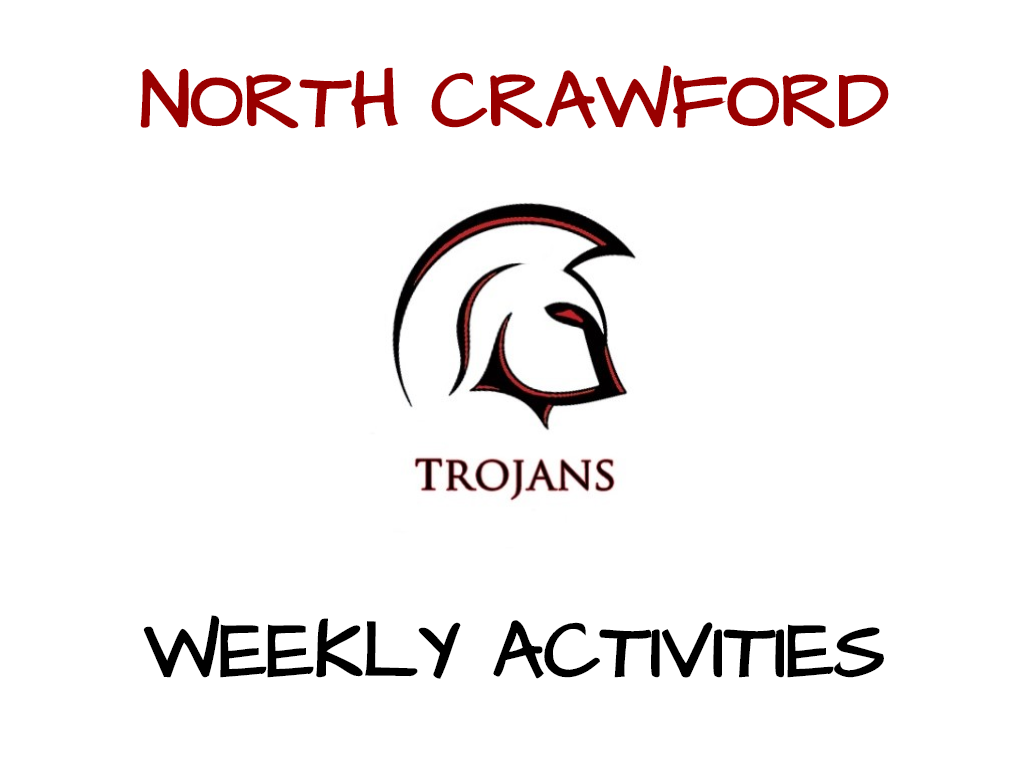 North Crawford Weekly Activities