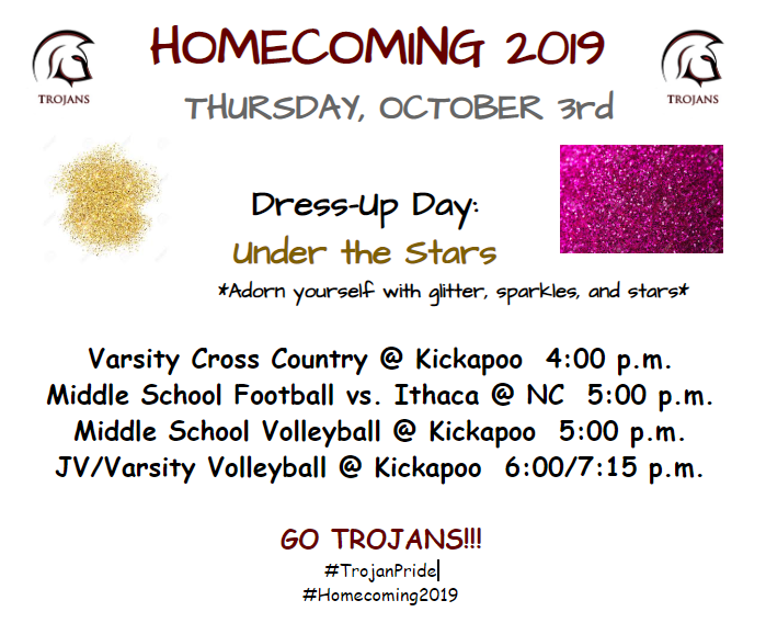 Homecoming Week Thursday Activities