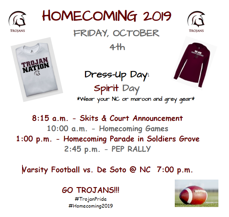 Homecoming Week Friday Activities
