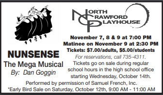 Nunsense Tickets on Sale