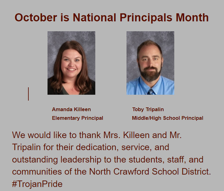 Recognizing National Principals Month