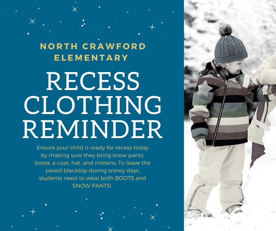 snow gear reminder