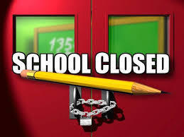 School Closed reminder