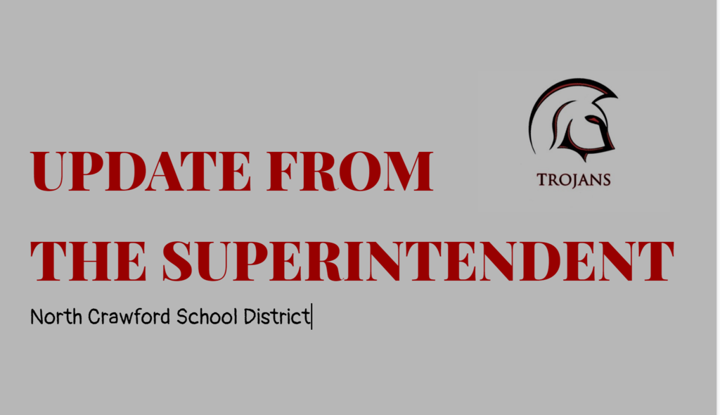 Superintendent Update Week of 3-30