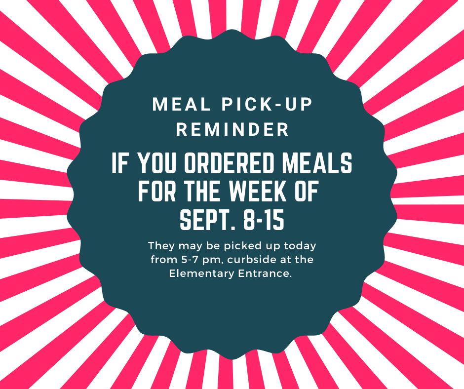 Meal Pick-Up Reminder